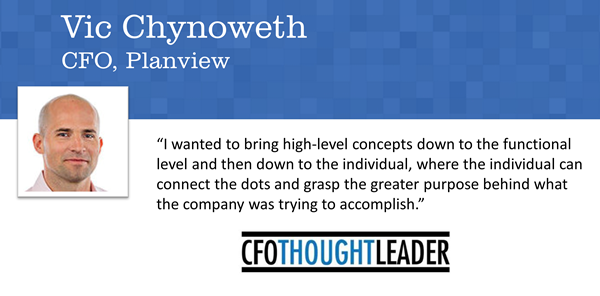 340: Private Equity's Software Crush   Vic Chynoweth, CFO, Planview