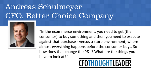 527: A Career in Step with the World | Andreas  Schulmeyer, CFO, Better Choice Company