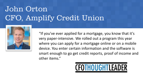 530: Embracing the Age of Mobile Finance | John Orton, CFO, Amplify Credit Union