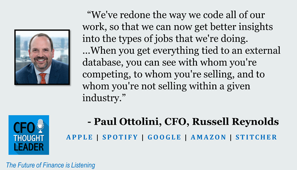 684: Completing the Job at Hand | Paul Ottolini, CFO, Russell Reynolds Associates
