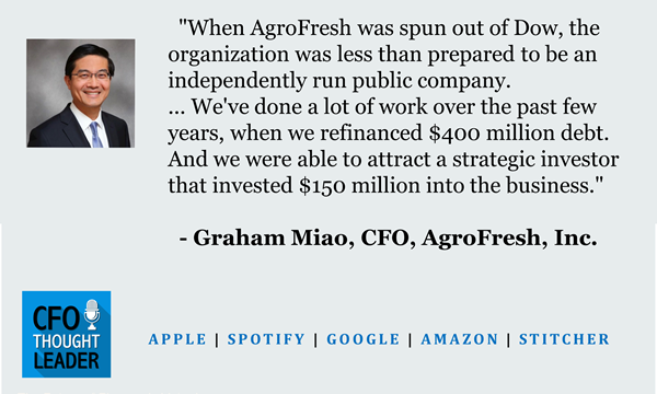 679: Making a Business Ripe for Investors | Graham Miao, CFO, AgroFresh